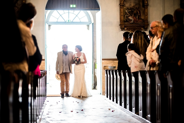 Traditional French Church Wedding