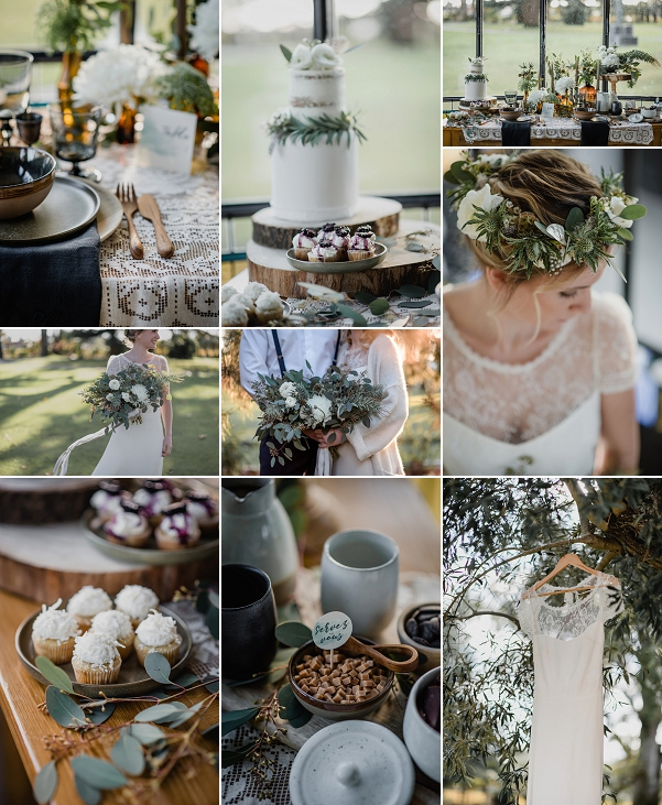 Woodland Inspired Château Pape Clément Wedding Snapshot
