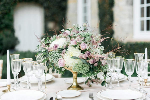 elegant wedding table decor