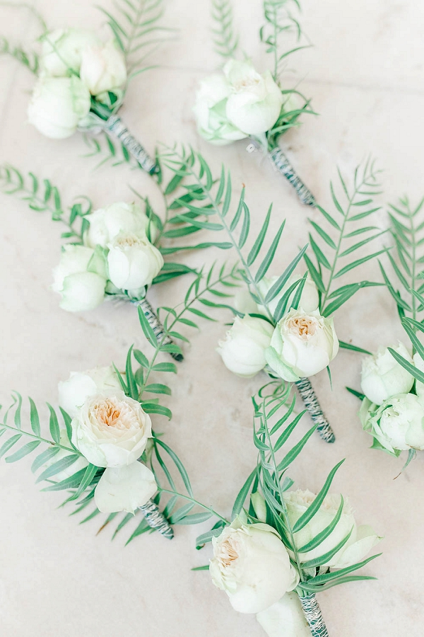 exotic wedding boutonnieres