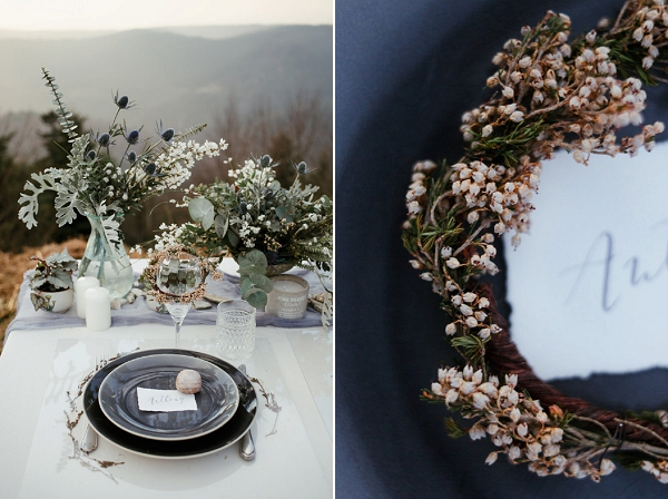 winter inspired wedding