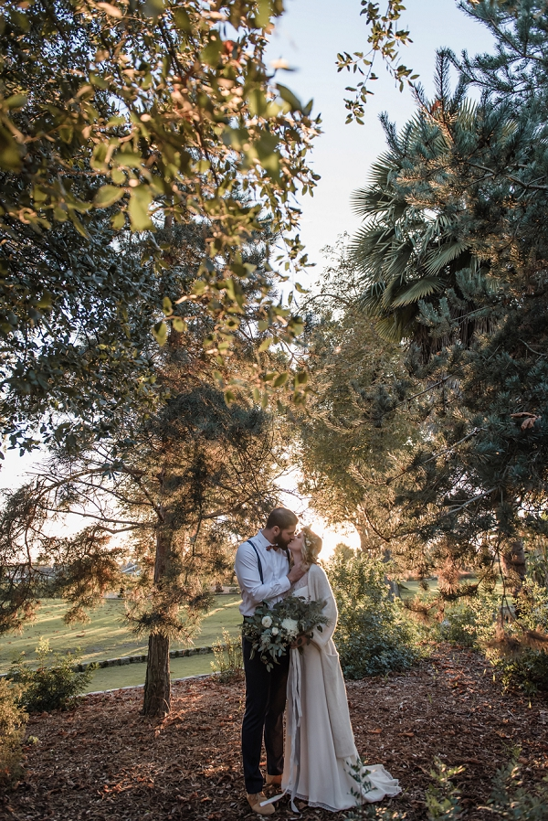 woodland french wedding
