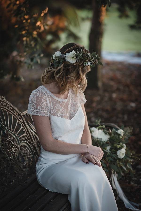 woodland inspired bride