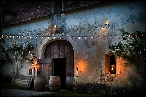 French Country Wedding Mood Lighting