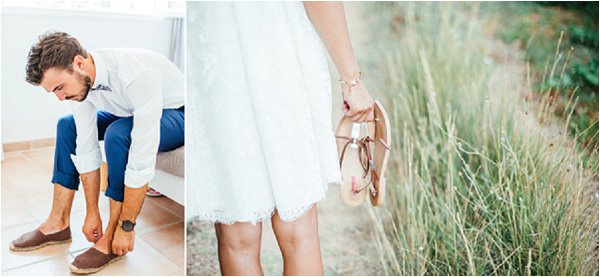 French Country Wedding Shoes