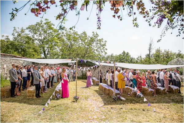 French Country Wedding Shelter Sun