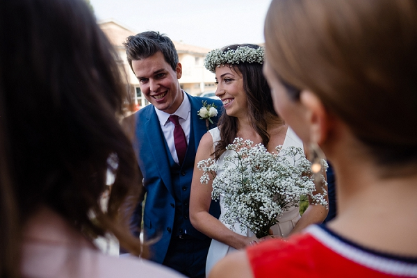 Gypsophila wedding bouquet
