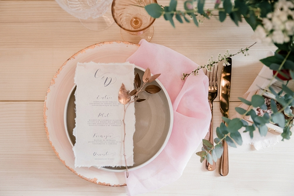 Hôtel de la Tresne Bordeaux-Blush Wedding
