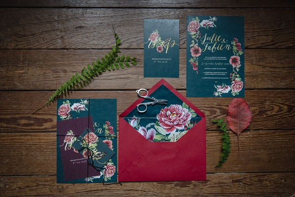 Mame Make wedding stationery