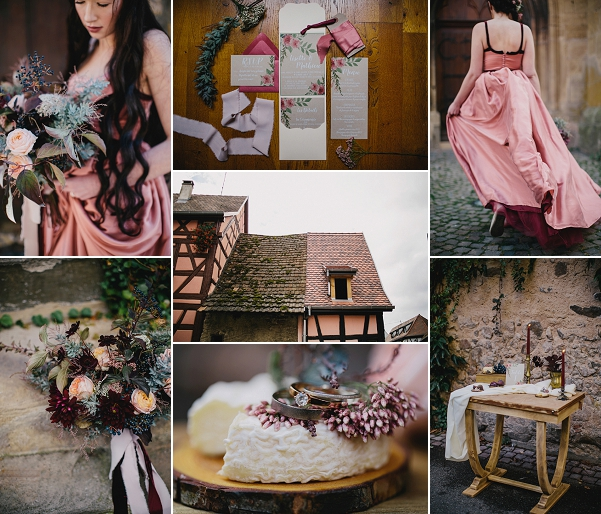 Medieval Inspired Eguisheim Wedding Shoot Snapshot