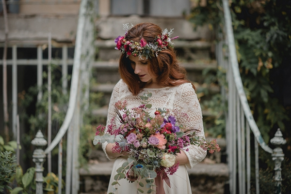 Muriel Domme wedding florist