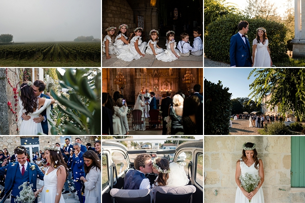 Traditional French Chateau Giscours Wedding Snapshot