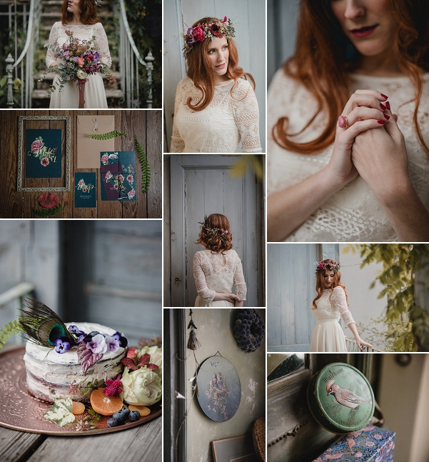 Vintage Bohemian Wedding Styled Shoot Snapshot