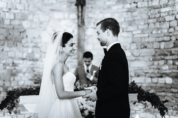 french riviera wedding ceremony