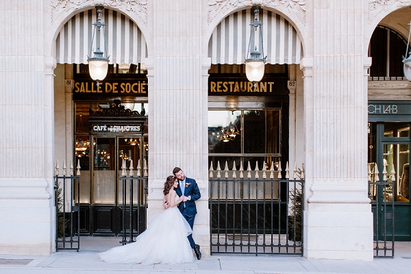 real life Paris elopement