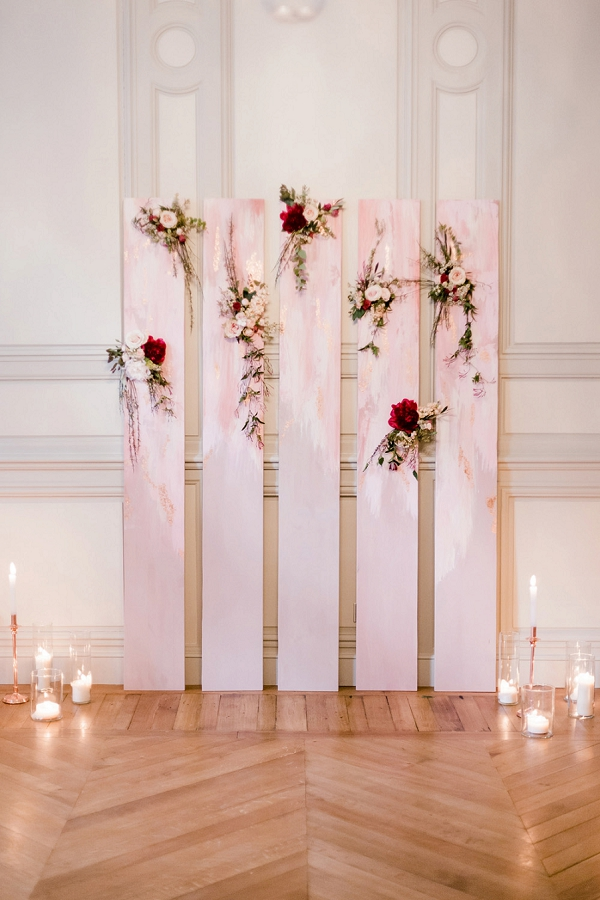wedding ceremony backdrop