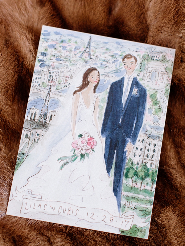 wedding stationery Paris