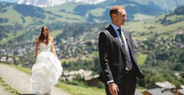 Airsnap weddings in chamonix