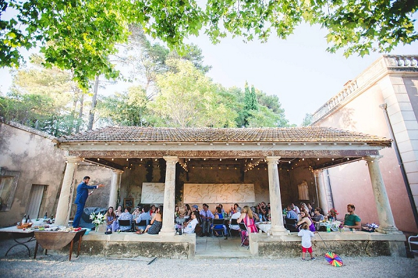 Bohemian outdoor wedding south of France