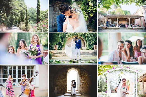 Boho Inspired Colourful South Of France Wedding Snapshot