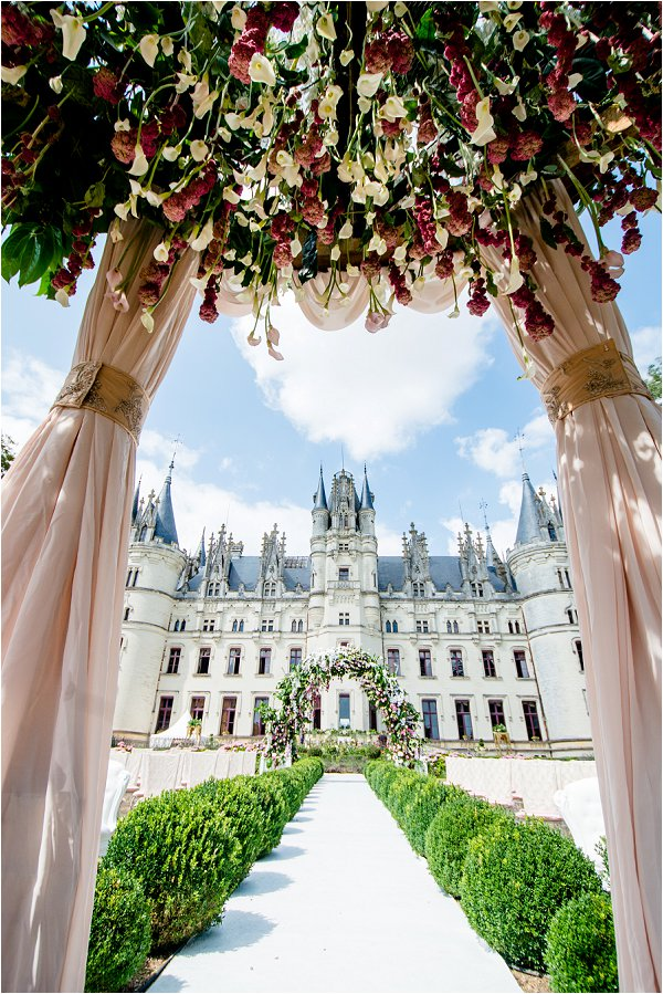 Chateau Challain Floral Decoration