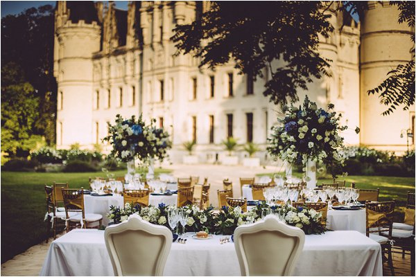 Chateau Challain Outside Banquet