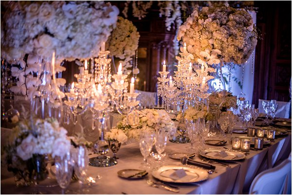 Chateau Challain Table Decoration