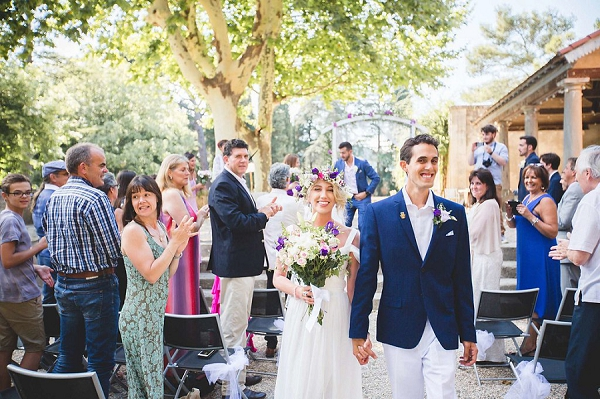 Colourful South Of France Wedding