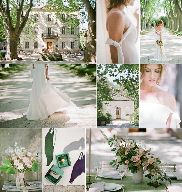 Fine Art Inspired Chateau des Alpilles Wedding Shoot Snapshot