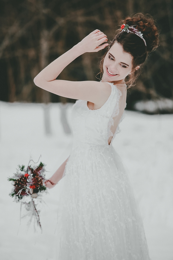 French Alps bride