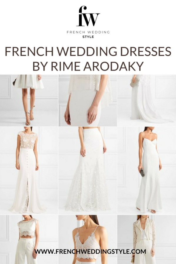French Wedding Dresses by Rime Arodaky