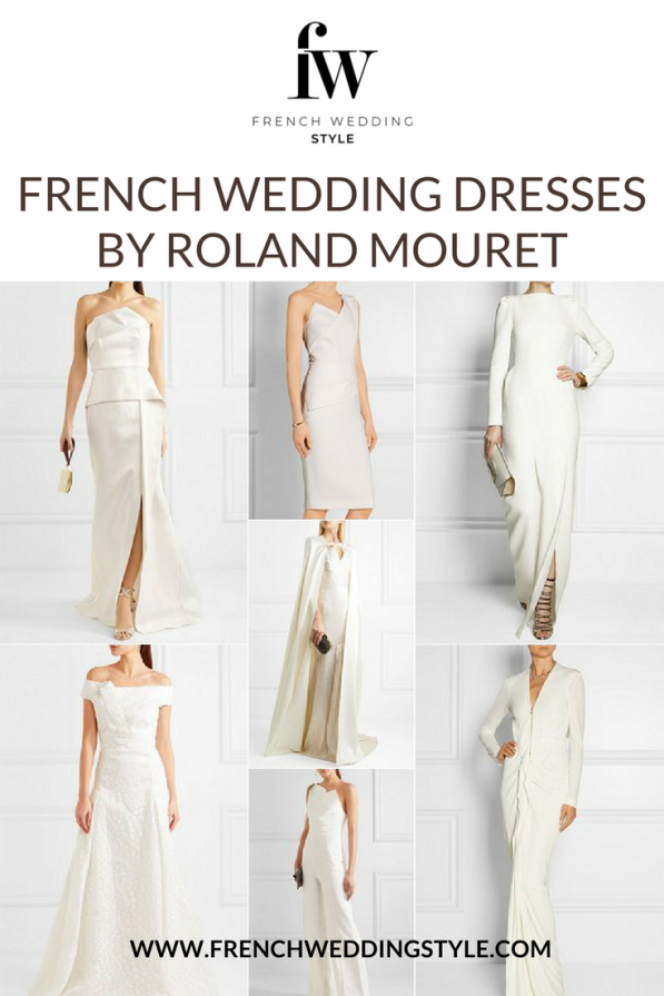 French Wedding Dresses by Roland Mouret 600