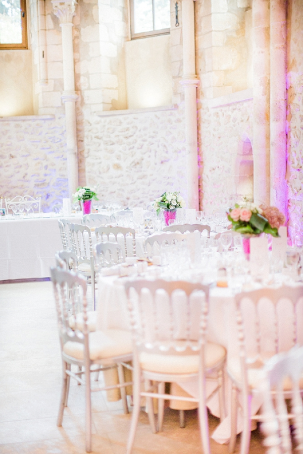 Pink wedding theme