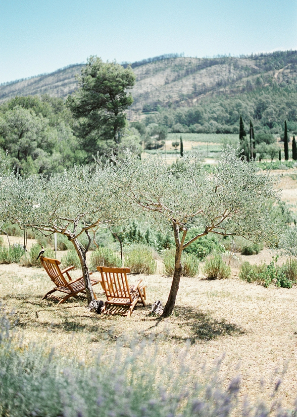 Provence Olive groves wedding