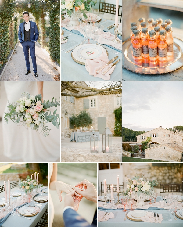 Provence Romance Mas de la Rose Wedding Shoot Snapshot