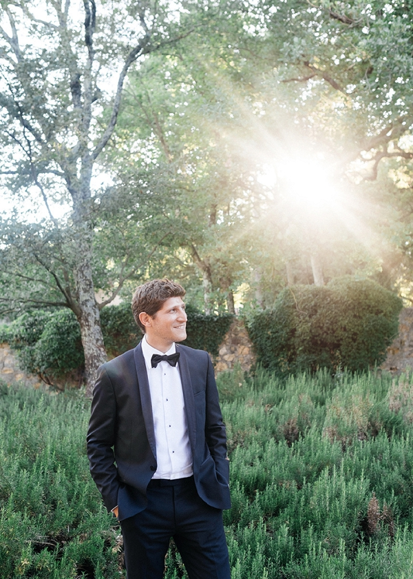 Provence groom portrait