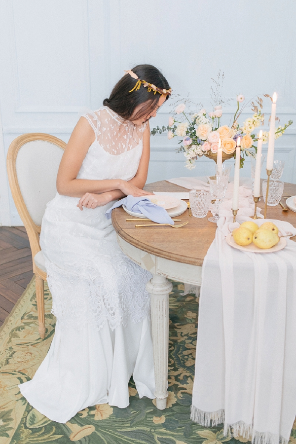 Ribbon, napkins and tablecloths wedding