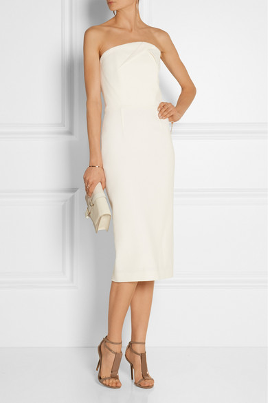 Roland Mouret classic wedding registry dress