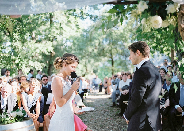 Sun drenched Destination Wedding