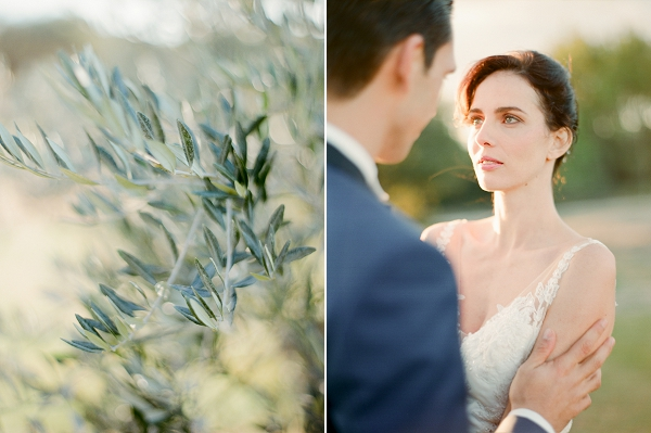 olive tree inspired wedding