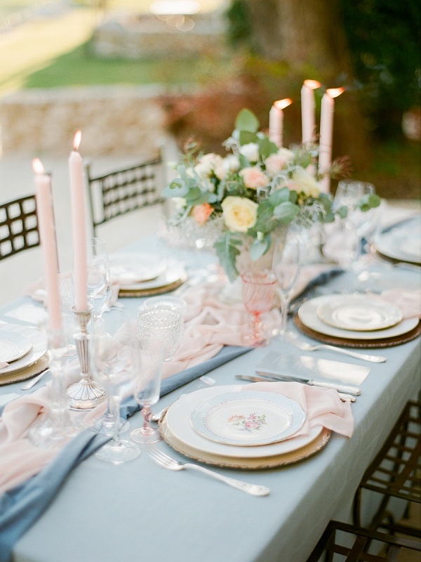 romantic wedding styling
