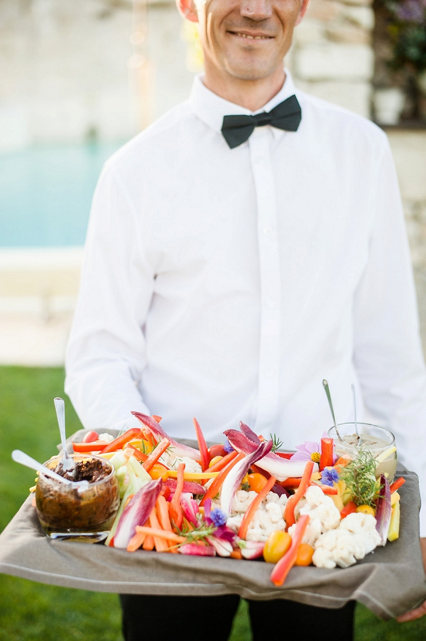 vegan wedding food