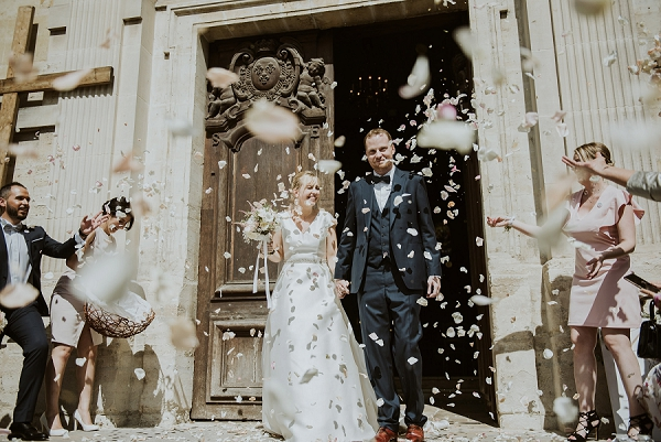 wedding confetti photo