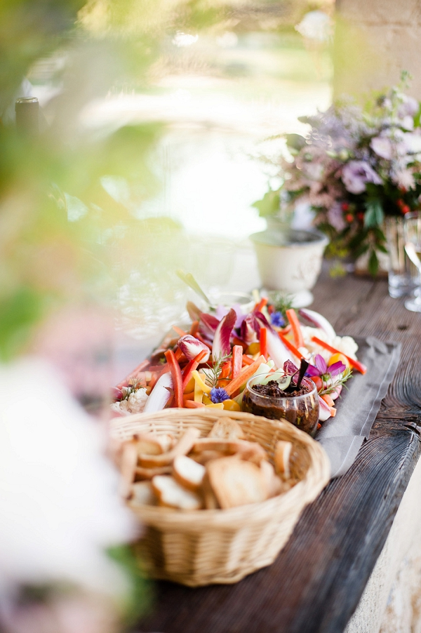 wedding food ideas Provence