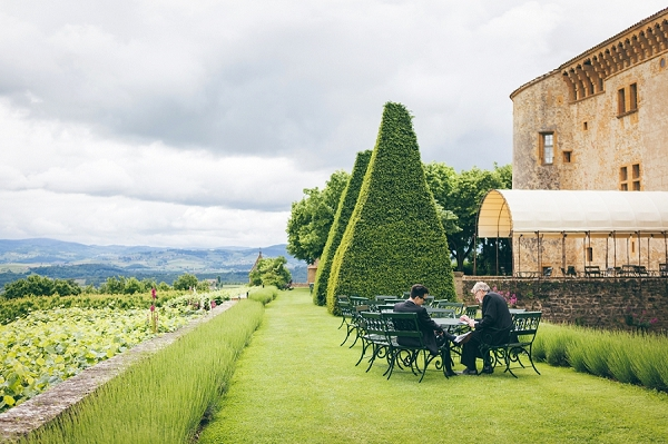Beaujolais vineyard wedding