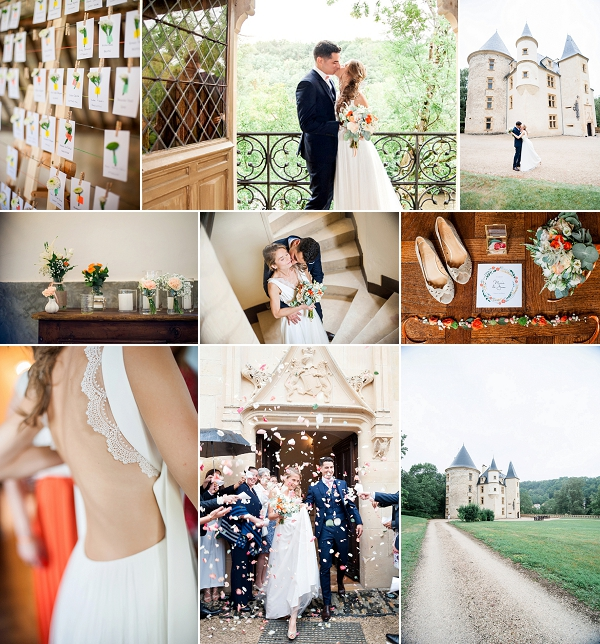 Château de Saint Martory Real Wedding Snapshot