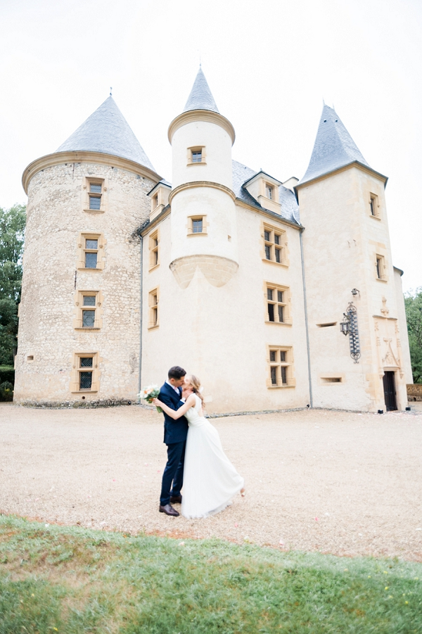Château de Saint Martory Real Wedding