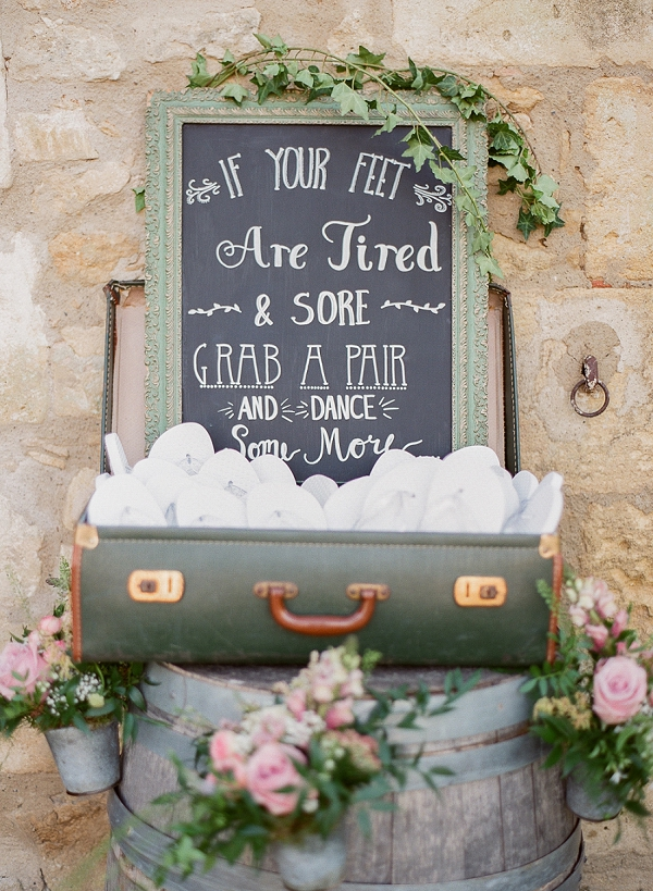 Chalkboard wedding sign ideas
