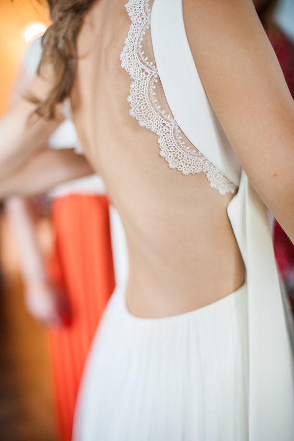 Charlie Brear backless wedding dress