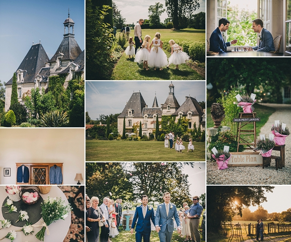 Fairytale Le Chateau Charmant Same Sex Wedding Snapshot
